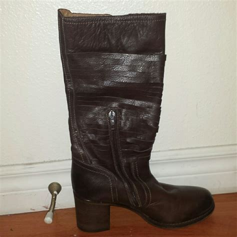 Napoleon Boots 21 napoleon boots brown italian leather boots from