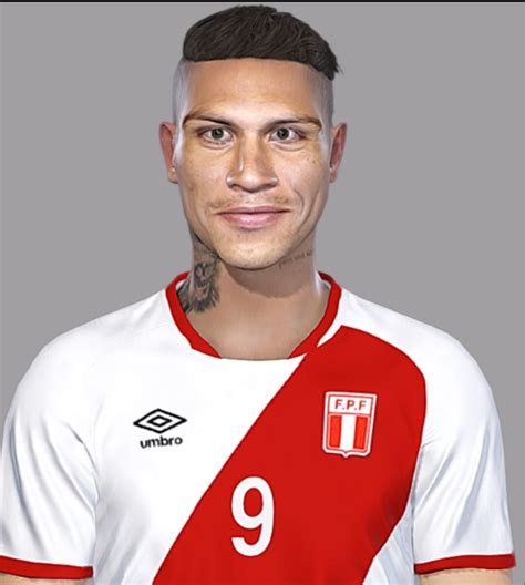 paolo guerrero pes 2018 paolo guerrero by facemaker seanfede pes patch