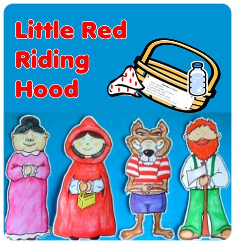 printable version of little red riding hood story resources primary resources little red riding