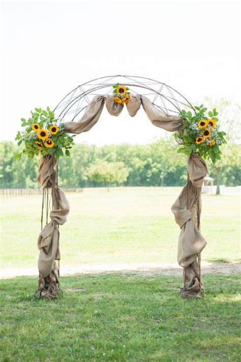 Wedding Arch Used by 1000 Images About Burlap Wedding On Burlap