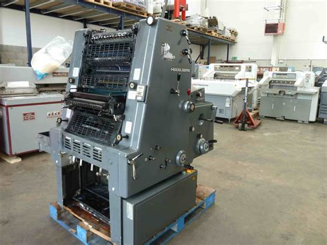 Plate Name Heidelberg Original single colour used offset printing machines heidelberg gto 46 one colour offset