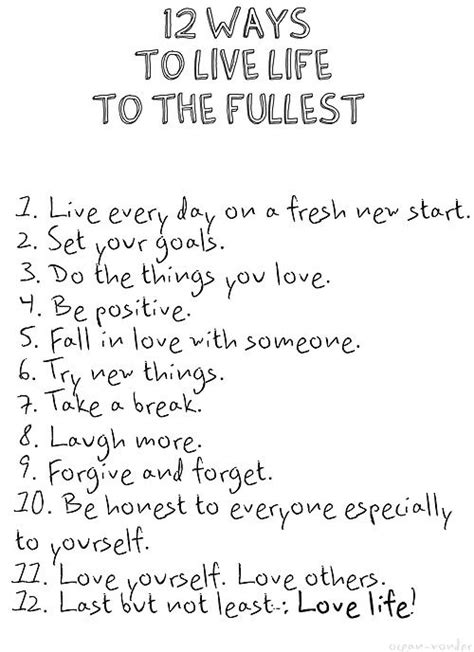 quotes about living to the fullest pauliieo how to live to the fullest quotes