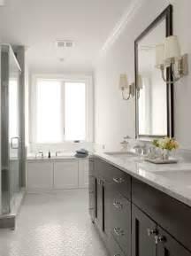 Espresso Double Vanity   Contemporary   bathroom