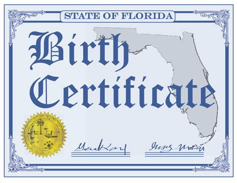 Time Of Birth Records Florida Birth Certificates Constitutional Tax Collector Serving Palm County