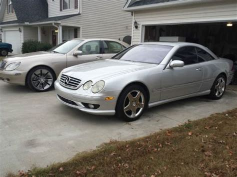 how does cars work 2001 mercedes benz cl class electronic toll collection sell used 2001 mercedes cl500 with amg sport package and navigation in fountain inn south