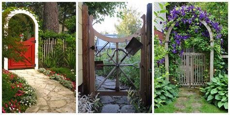 gates for backyard 15 best garden gates ideas for beautiful garden gates