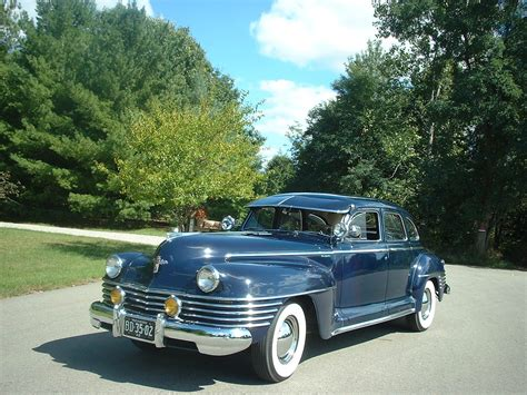 is chrysler an american car 1942 chrysler new yorker sedan from world war ii era