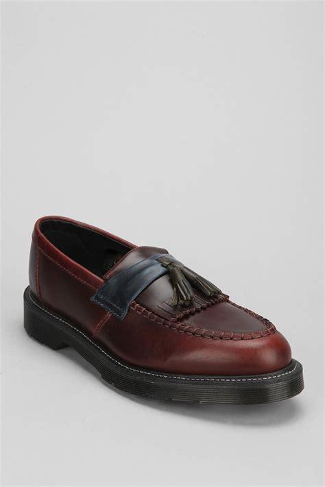 doctor marten loafers dr martens leroy tassel loafer in brown for