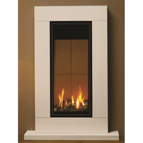 Gas Fired Fireplace by High Tower Balanced Flue Gas