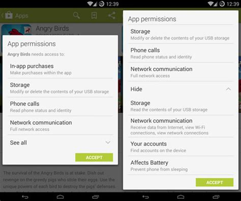 android app permissions a guide to understanding android app permissions how to manage them hongkiat