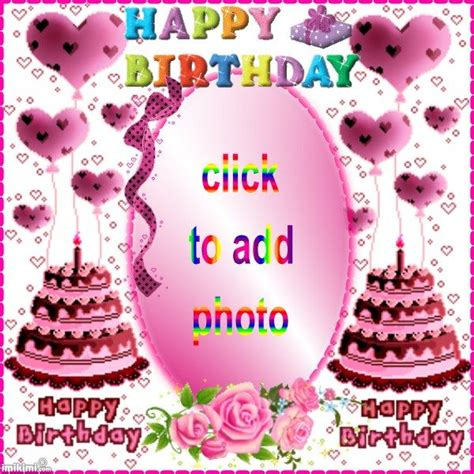 Add Photo In Birthday Cards For Free 25 Best Free Birthday Cards Images On Pinterest