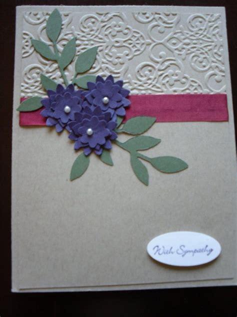 Handmade Sympathy Cards - handmade stin up sympathy card