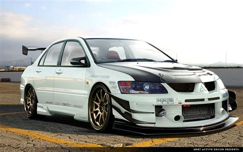 mitsubishi evo lancer evo тюнинг modified lancer evo