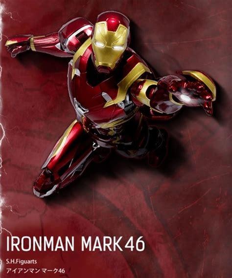 Shf Ironman 46 Iron Mk 46 Civil War shf ironman 46 captain america civil war