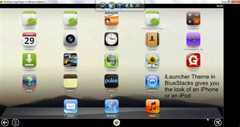 Bluestacks On Iphone | tweak install iphone theme on bluestacks teknogin