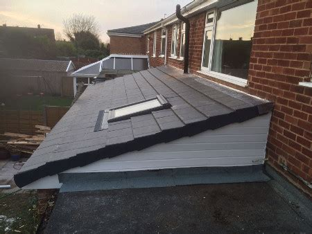 low pitch roofs by p w contractors