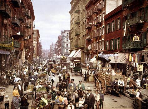 history st historic photo mulberry new york city