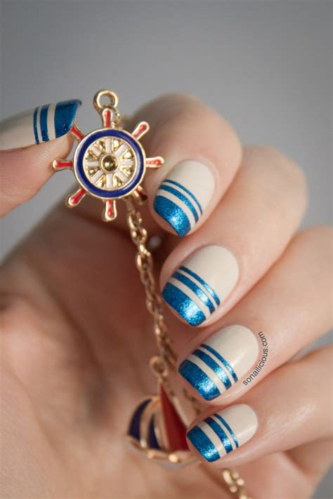 russian nail art tutorial hydra island inspired nautical nails