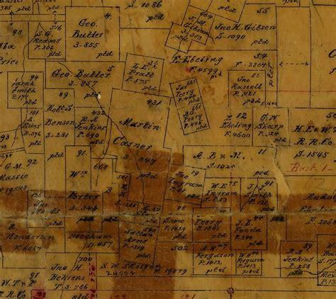blanco county map blanco county platt maps ukn casner family genealogy