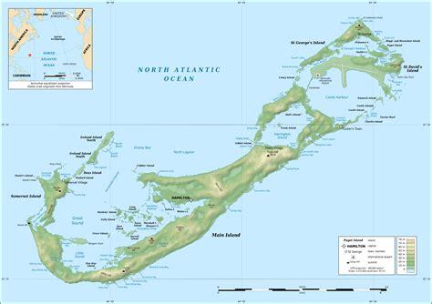 map of bermuda and us file bermuda topographic map en png