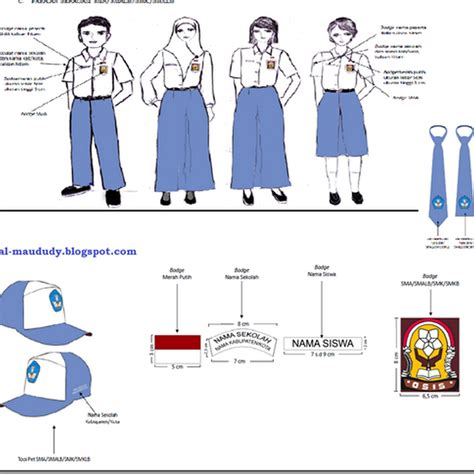 No33 Celana Panjang Sma Celana Sma Panjang Seragam Sekolah pakaian seragam nasional sma smalb smk smklb sesuai permendikbud no 45 tahun 2014 al maududy