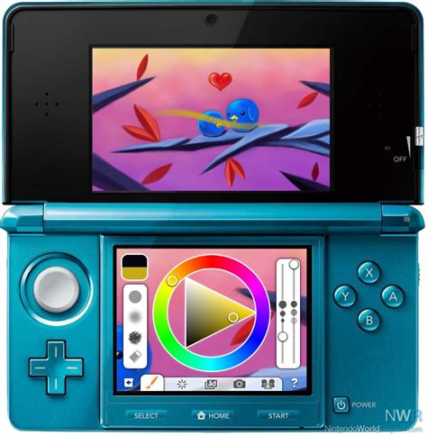 Wii U Drawing App by Colors 3d Getting Big Update April 5 News Nintendo