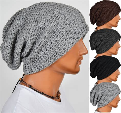 how to knit a cap chic knitting slouchy beanie cap baggy winter hat