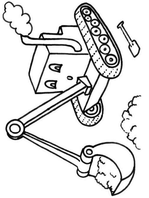 digger coloring pages to print coloring pages
