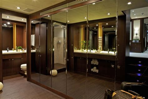 luxury master bathroom yacht sanjana master bath luxury yacht browser by charterworld superyacht charter
