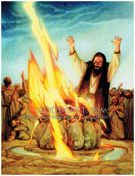 The Prophets Of Baal elijah and the prophets of baal