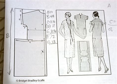 pattern drafting course nz ernie k designs the one hour dress 1920s version