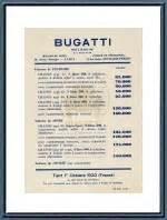 Bugatti Veyron Price List Bugatti Memorabilia
