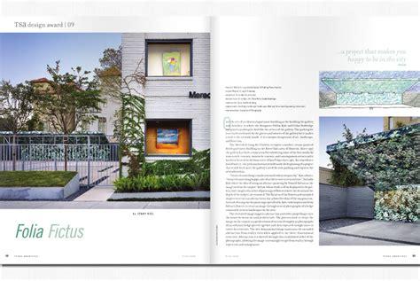 architecture and design magazine texas architect magazine baldridge landscape baldridge