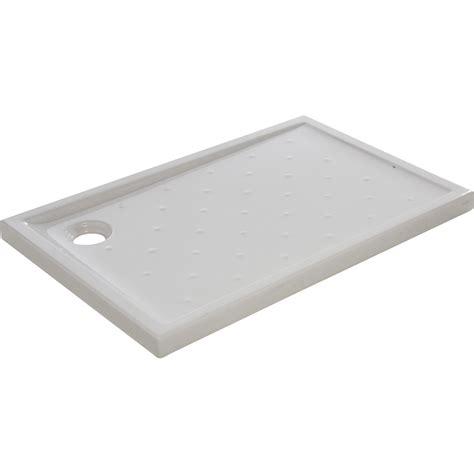 receveur de ceramique 120x80 receveur de rectangulaire l 120 x l 80 cm gr 232 s blanc asca2 leroy merlin