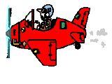 membuat gif dari corel download 80 gambar animasi pesawat terbang bergerak cartun
