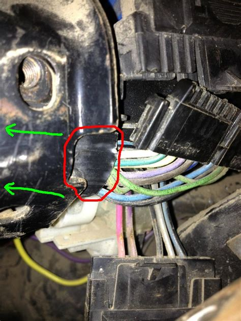 Trouble Changing Turn Signal Switch Gm Square Body
