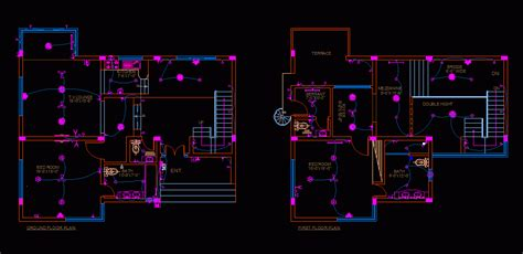 home electrical dwg block for autocad � designs cad