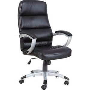walmart office furniture techni mobili high back executive office chair black