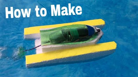 how to make a boat model how to make an electric boat very simple and powerful
