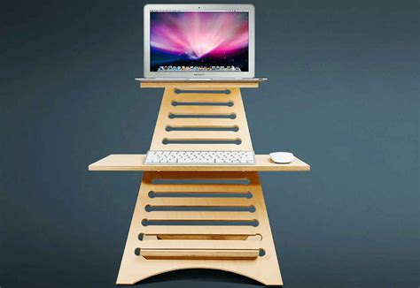 turn your desk into a standing desk turn desk into standing desk whitevan