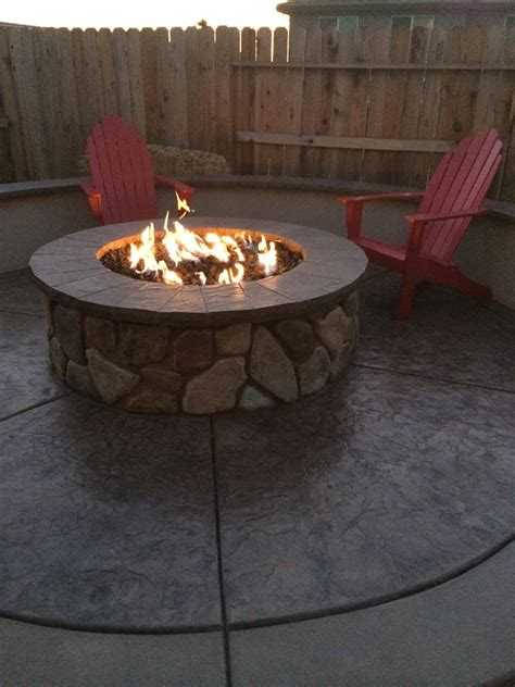 Firepit Gas Fireplace How Can I Get My Gas Pit To A Larger Or Better Disperse Heat Home