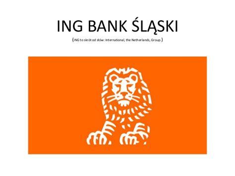 bank slaski prezentacja ing bank śląski
