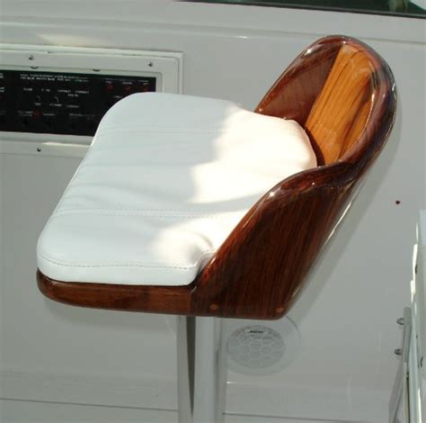 release marine boats release marine teak stool leaner chair the hull truth