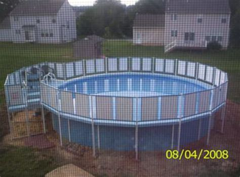 dirt    ground pool