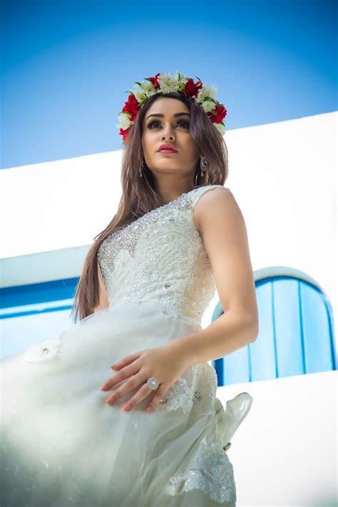 arya indian actress aditi arya bridal photoshoot south indian actress
