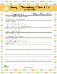 living room checklist printable living area deep cleaning checklist mom it