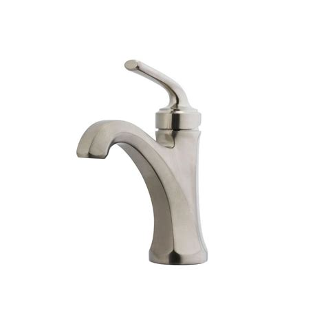 pfister bathroom faucet pfister arterra 4 in centerset single handle bathroom