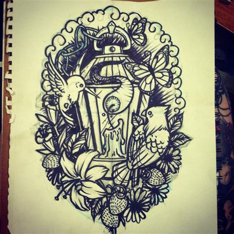 lantern tattoo designs half sleeve girly lantern half sleeve by lynntattoos on