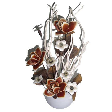 fiori di colore fiore di colore marrone con vaso assisi souvenir