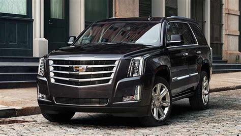 2017 Cadillac Escalade Review Price Changes Colors